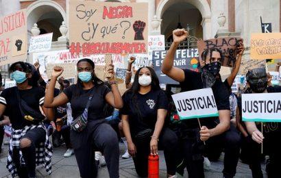 'El silencio es pro-racista': las protestas contra el racismo continúan en todo el mundo